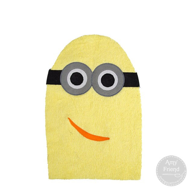 Minion Washcloth 4