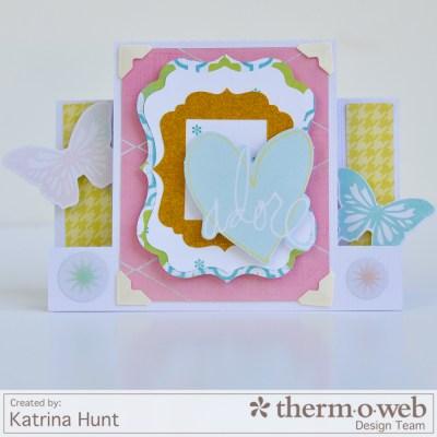 Katrina Hunt-Thermoweb-HeidiSwapp-Adore Card-1000-1