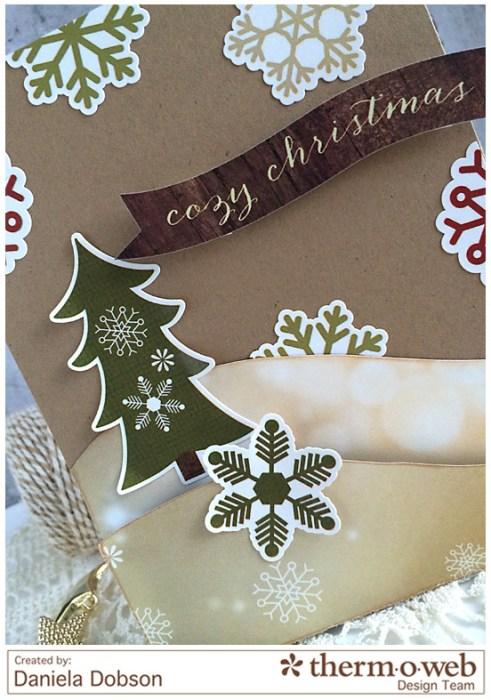 Cozy Christmas close by Daniela Dobson Therm O Web