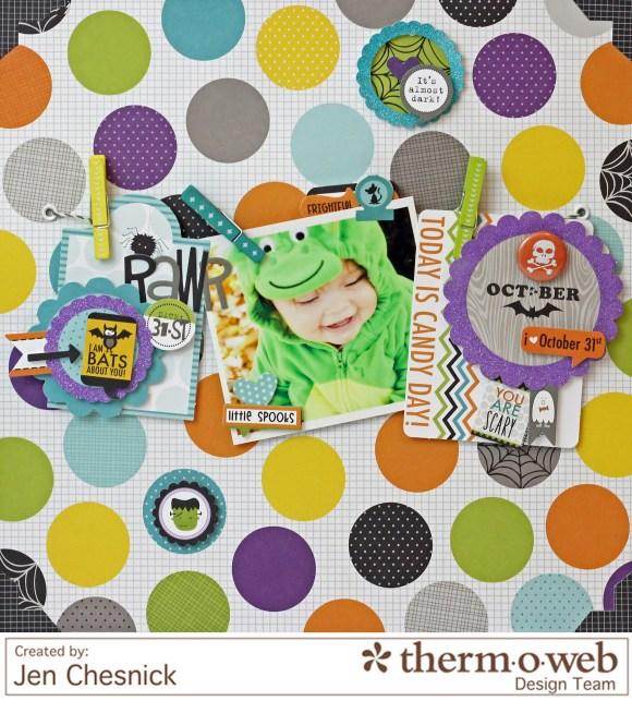 Jen Chesnick- RAWR- Thermoweb