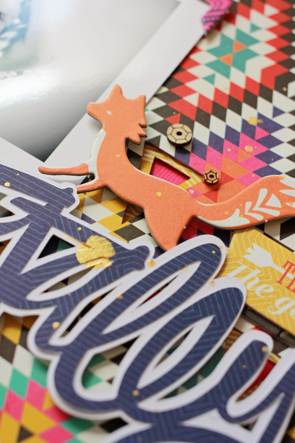 Jen Chesnick- Totally Epic- Scrapbook Circle-details