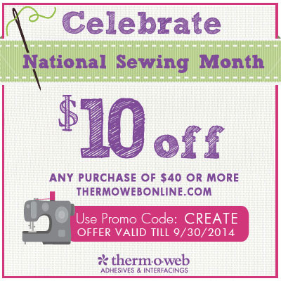 Don't miss our National Sewing Month Sale!