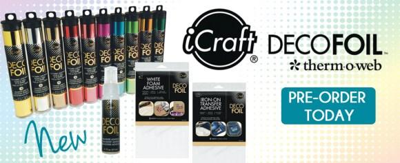 iCraft Deco Foils Gold Sheets