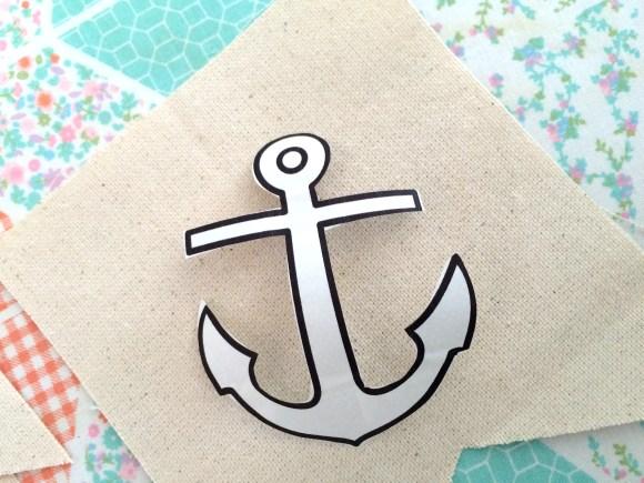 riley blake nautical banner deco foils 007