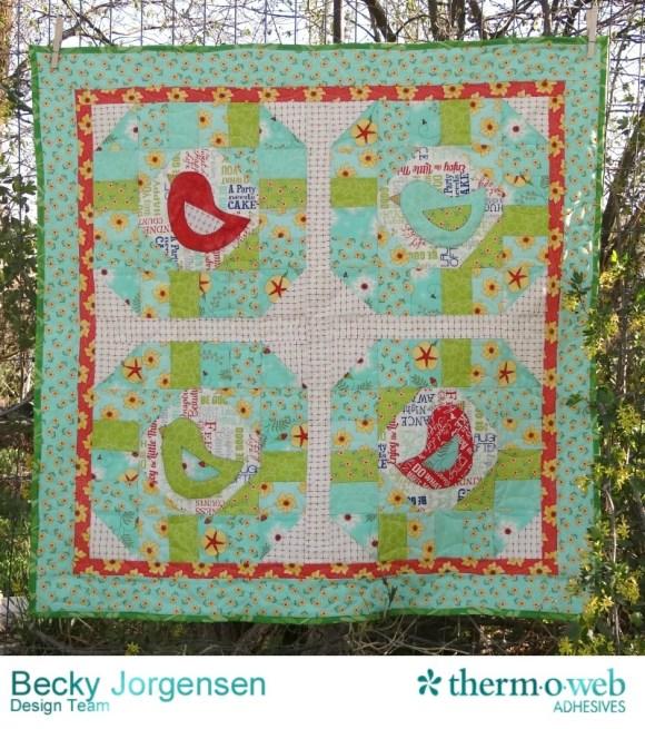 early bird quilt tutorial1