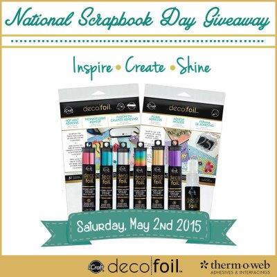 NationalScrapbookDayGiveaway2015