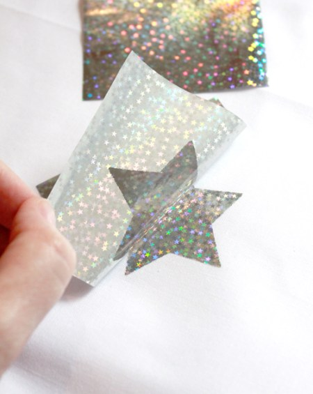 DecoFoil star table topper 12