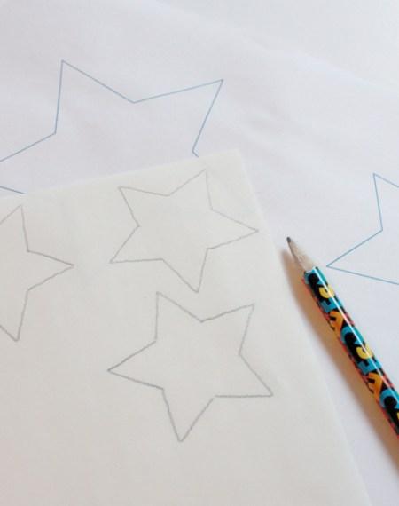 DecoFoil star table topper 3