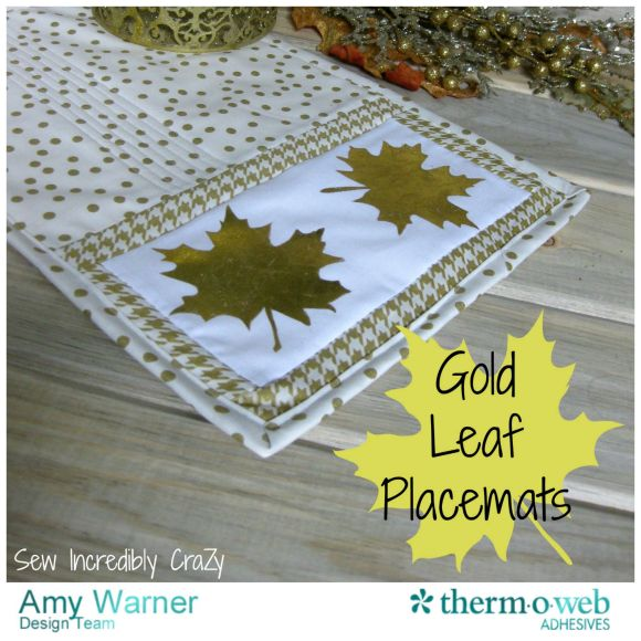 Gold Leaf Placemats