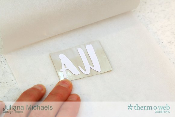 Foiled Die Cuts with Therm O Web Deco Foil and iCraft Hot Melt - Tutorial by Juliana Michaels