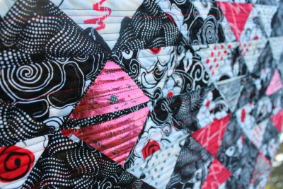 quilted foil