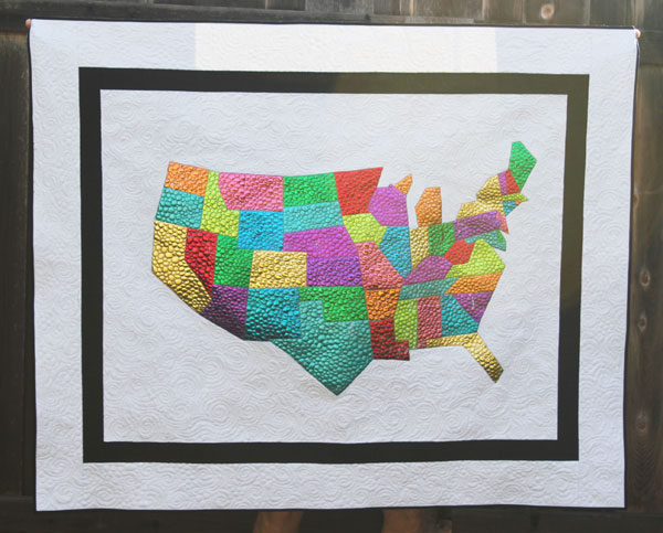 Foiled Thermoweb USA Quilt