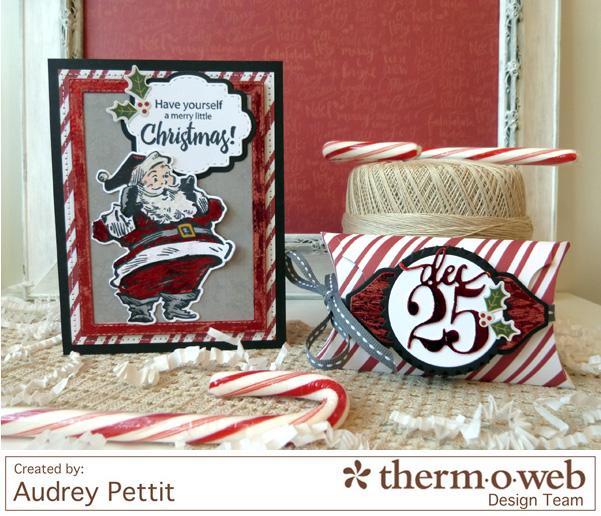 AudreyPettit Thermoweb PhotoPlayPaper MerryChristmasSet
