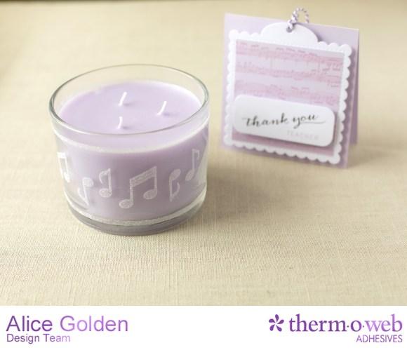 Alice Golden TOW Easy Tear DIY Custom Candles 5