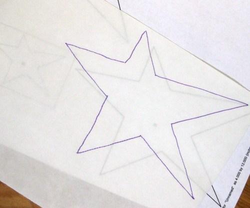 DecoFoil Stars 5