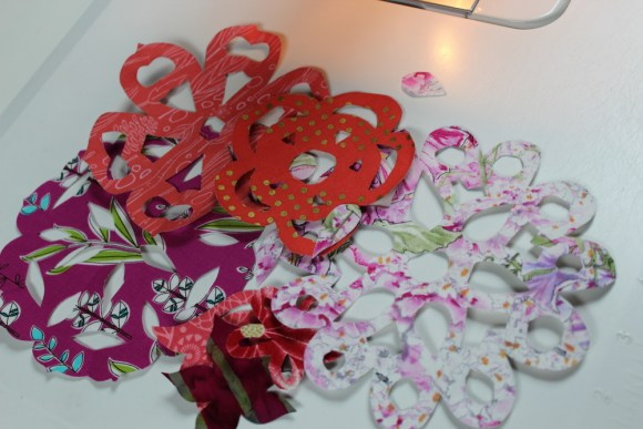 cut out flowers