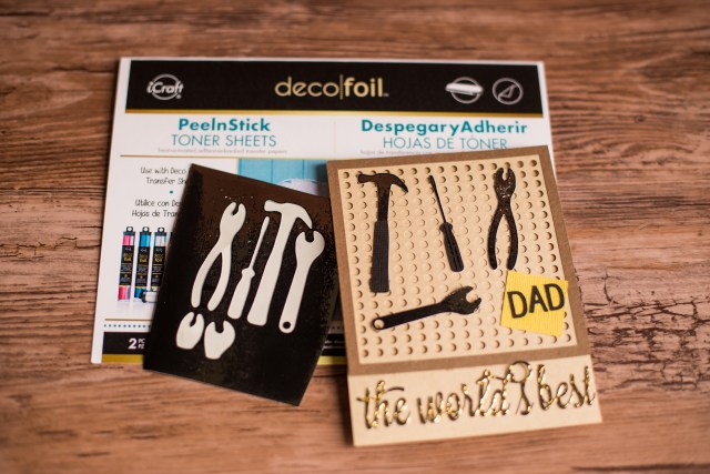 rk tow fathers day cards deco foil-7