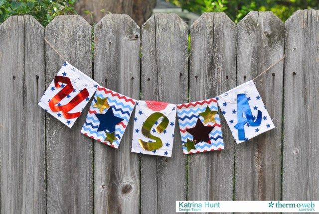 4th of July USA Deco Foil Banner