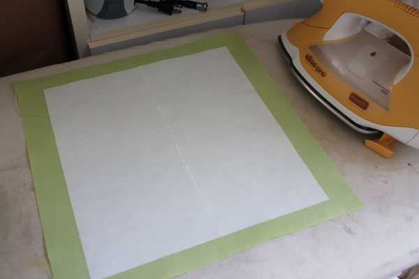 two fusible sheets