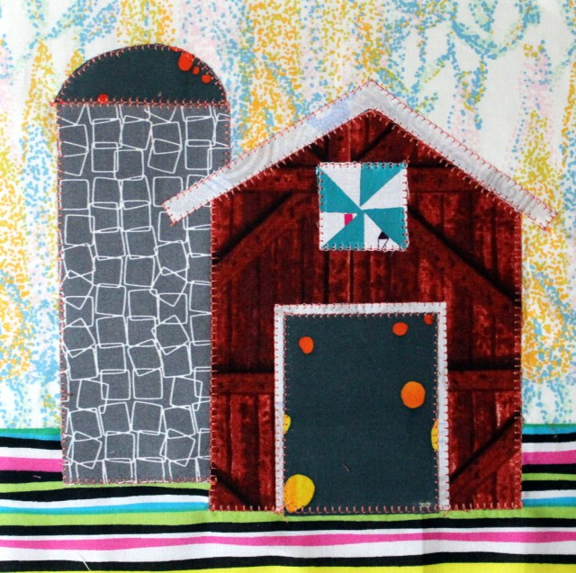 Shiny New Barn Quilt Block
