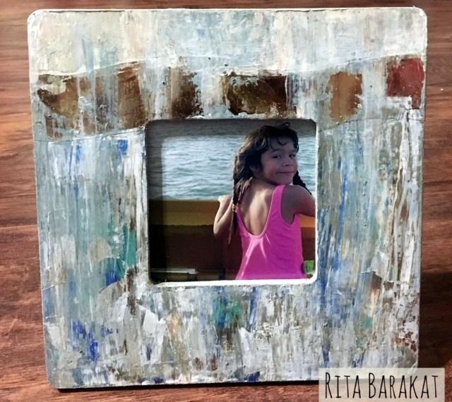 Rita Barakat Mixed media Frame
