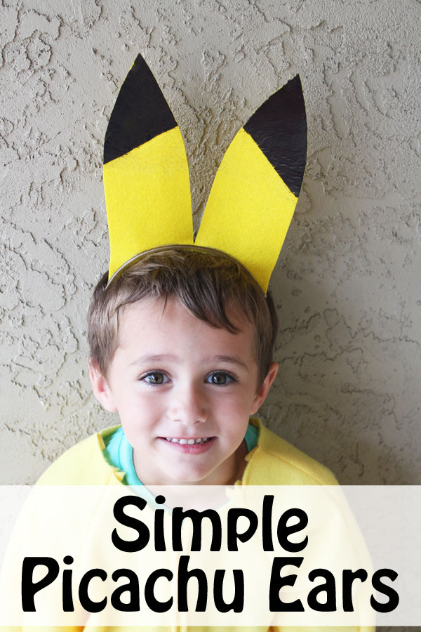Make Simple Picachu ears with Decofoil