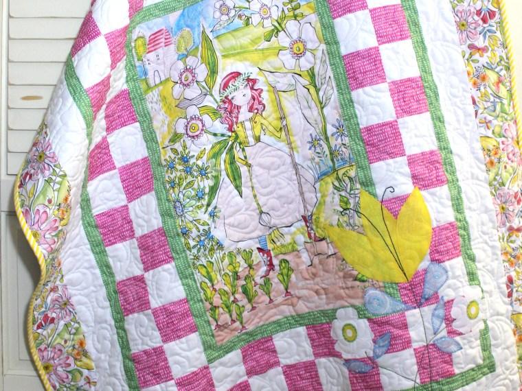 My Pretty Garden Quilt by Carol Swift