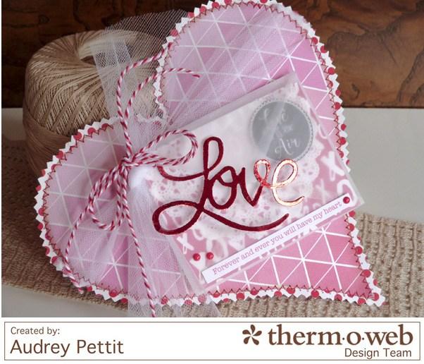 Audrey Pettit Deco Foil Love Home Decor