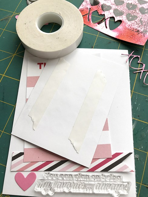 Love card step 2 by Daniela Dobson
