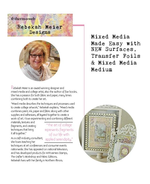 Rebekah Meier Bio