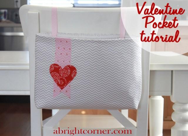 Valentine HeatnBond Pocket Tutorial