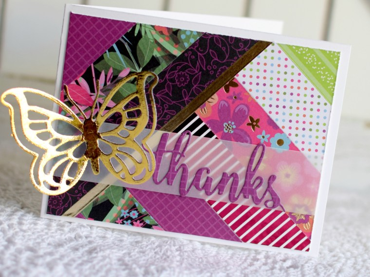 Gina K Designs Thanks Card