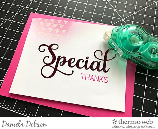 Thank you card set step 3 by Daniela Dobson