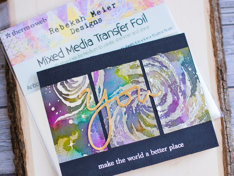 Mix It Up Card by Rebecca Keppel