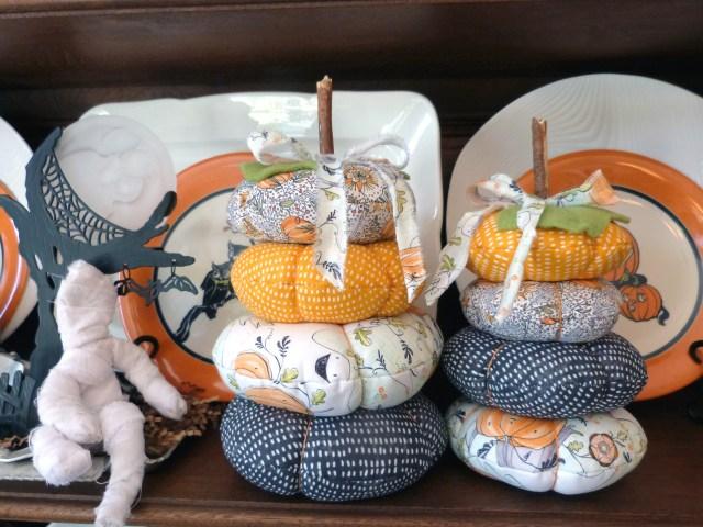Audrey Pettit Fabric Pumpkin Stacks