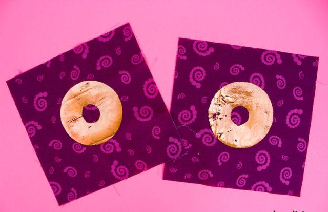 Deco Foil Donut Mini Quilt-4