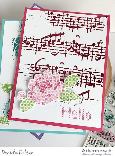 Hello card set by Daniela Dobson
