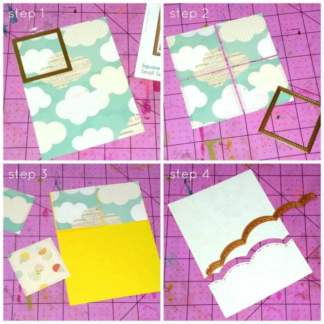 Stitched Tile Sky Background step1-4