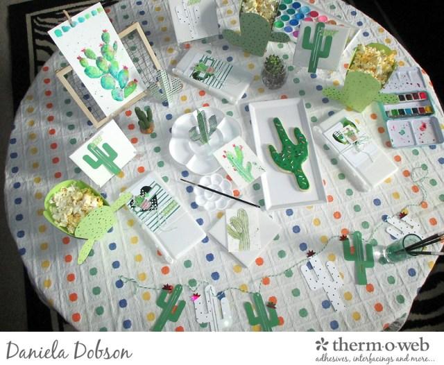 Deco Foil paint party 01 by Daniela Dobson