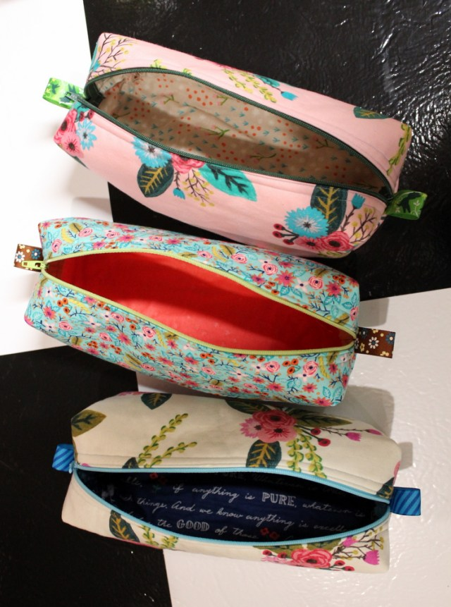 inside and outside of chunky wee zippy pouches
