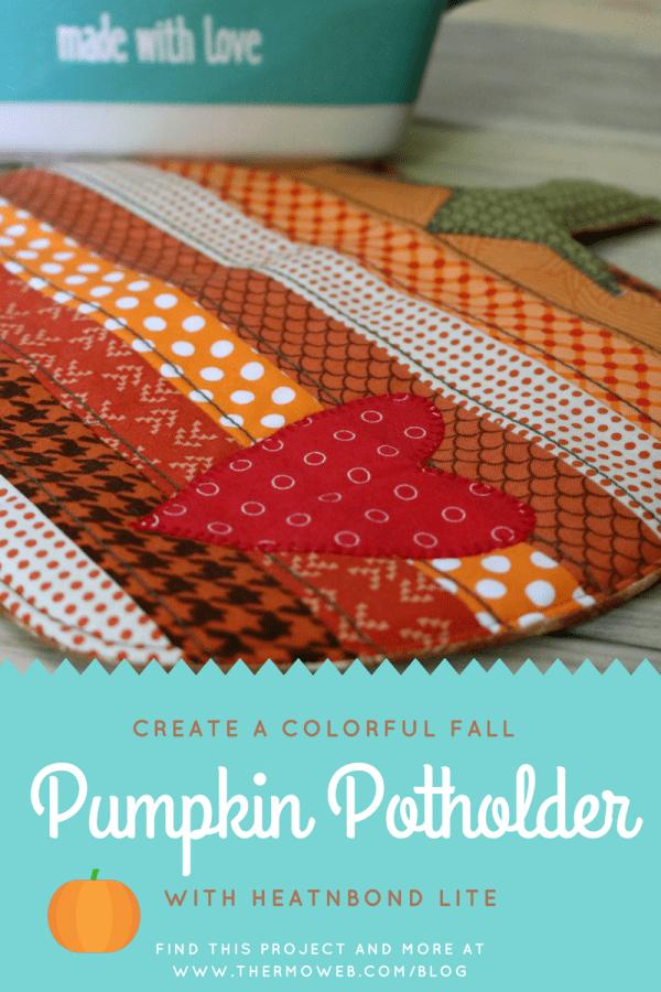Fall Pumpkin Potholder