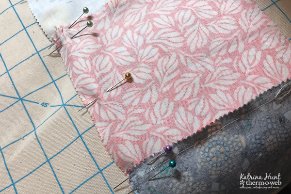 Stepouts for Sewing Machine Cover with SpraynBond Basting Spray and HeatnBond Fusible Fleece