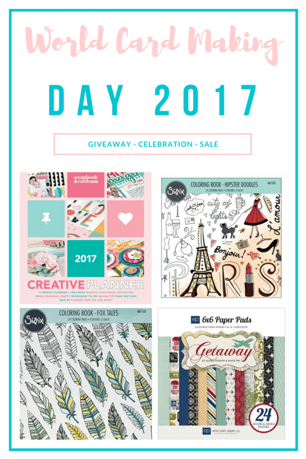 World Card Making Day Giveaway