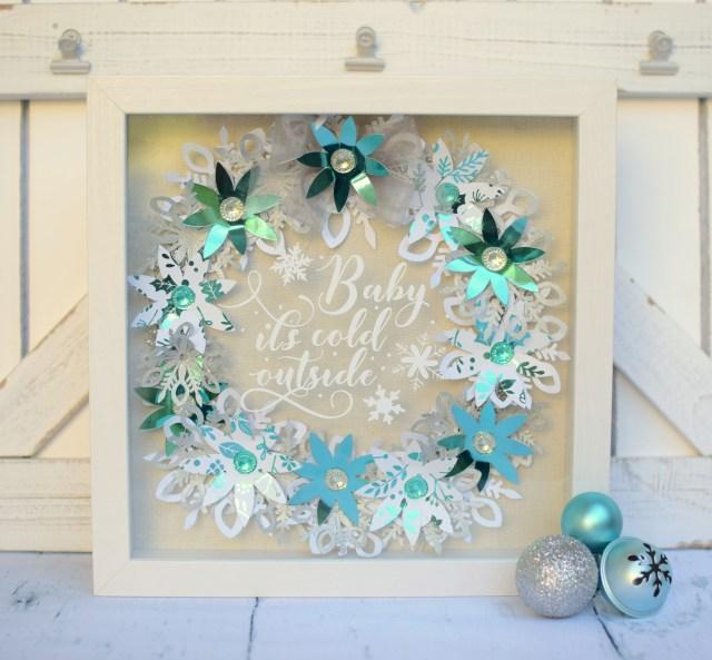 Deco foil Wreath 2