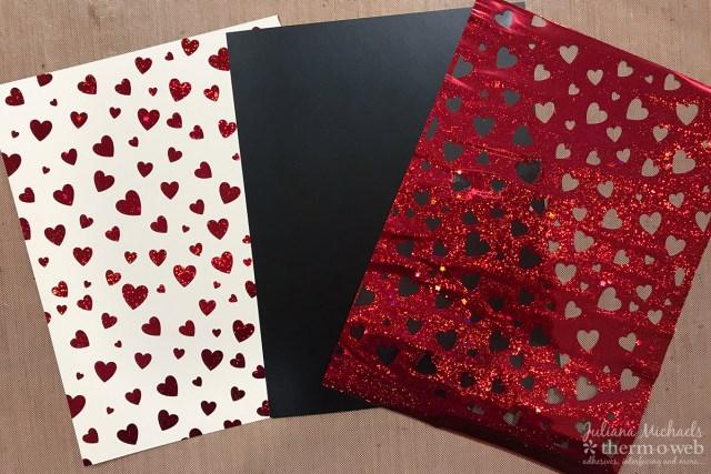 Using Fancy Foil Scraps with Deco Foil Toner Sheets