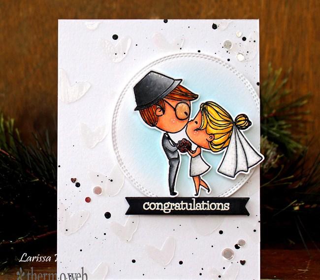 Congratulations Wedding Card with Brutus Monroe