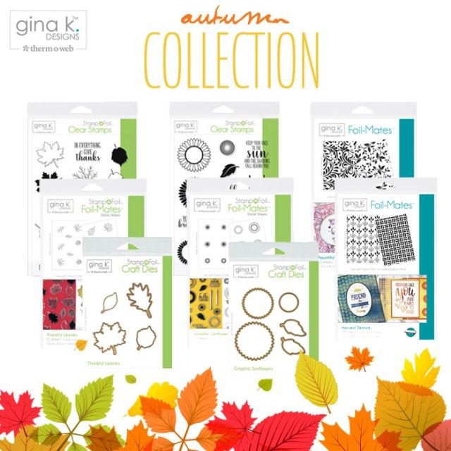 Gina K Designs StampnFoil Fall Release