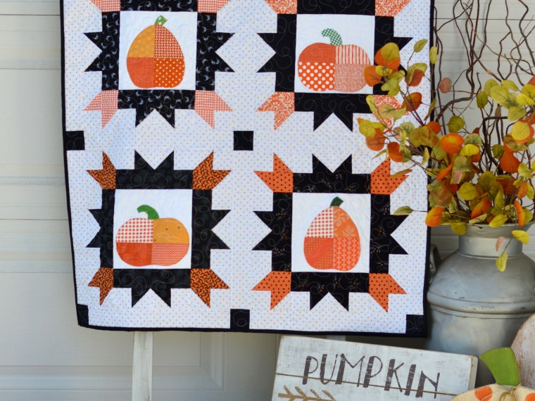 Patching Pumpkins Mini Quilt