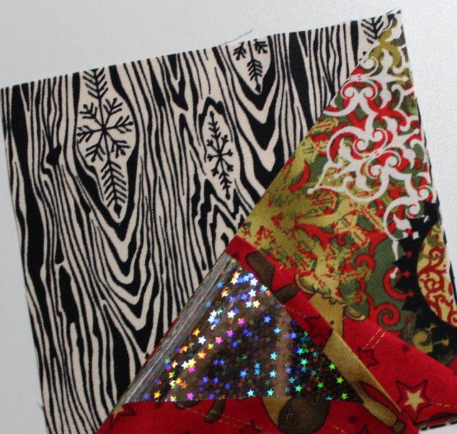pinwheel on fabrics