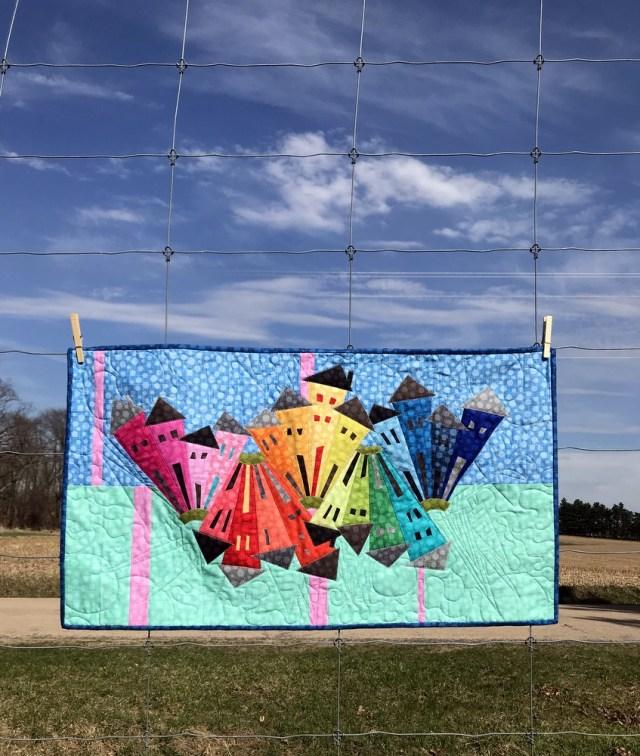 Rainbow Hash Dot Dresden Neighborhood by Kim Lapacek